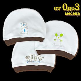 Бебешка шапка с картинка